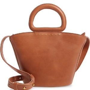 Madewell the Westport Mini Crossbody leather Bag